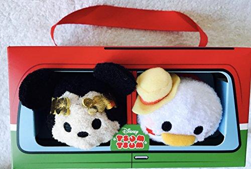 Disney, Mickey und Donald '' Tsum Tsum '' Soft Plüsch Italien Set - Mini 3 1/2 ''