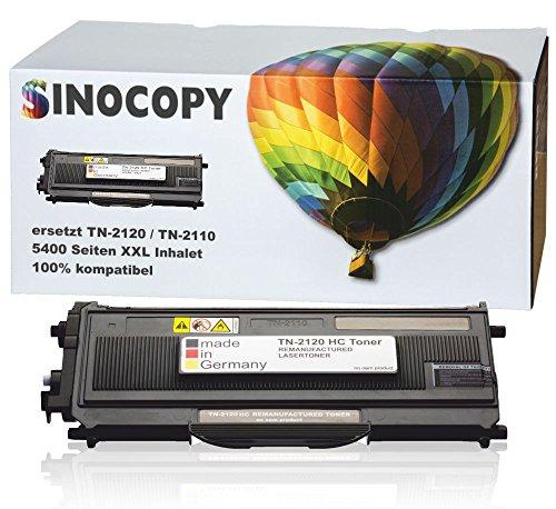 Preisvergleich Produktbild 1 SinoCopy XXL Toner für Brother TN-2120 TN-2110 Brother HL-2140 MFC-7340 MFC-7320 DCP-7030 DCP-7040 DCP-7045 N HL-2150 N NR HL-2170 WR N W MFC-7320 W MFC-7440 W N MFC-7840 W TN2120 TN2110