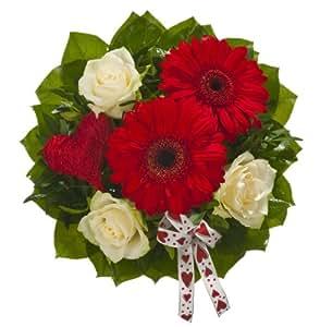 Dominik Blumen und Pflanzen, Blumenstrauss Happy Valentino - LIEFERUNG AM 14.02.2014