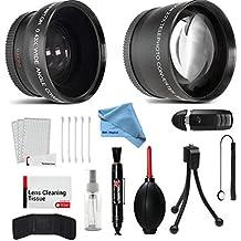 58mm gran angular y teleobjetivo lente de conversión Kit de accesorios para Canon EOS Rebel SL1T5T6T6S T6i T5i T4i T3T3i T1i T2i Xsi XS XTi XT 7d 80d 70d 60d 60Da 50d 40d 30d 20d 10d