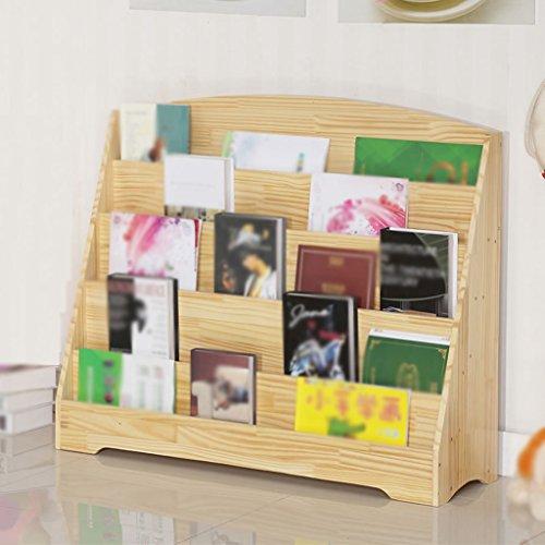 DFHHG® Librería Estantería 60 * 82 * 30 Cm 80 * 82 * 30 Cm Soporte de exhibición de madera sólida de 100 * 82 * 30 Cm durable ( Tamaño : 60*82*30 cm )