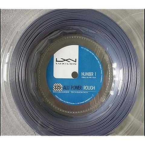 Luxilon Big Banger Alu Power Rough 125argento String, No Stampa String