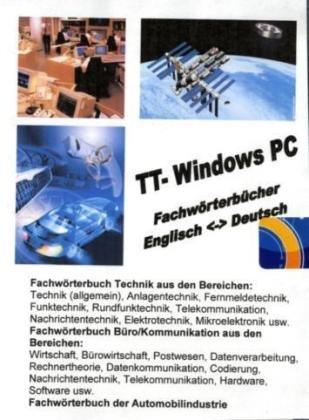 TrueTerm Fachwörterbuch Technik/Büro/Kommunikation/Automobilindustrie, Windows PC, CD-ROM Für Windows 98/2000/ME/NT/XP/Vista
