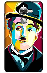 iessential chaplin Designer Printed Back Case Cover for Letv Le 2