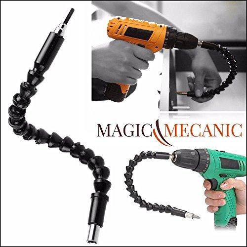 -magicmecanic-arbre-flexible-perceuse-visseuse-bras-aimante-rallonge-a-cardan-295-cm-embout-mandrin-