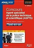 Concours Agent spécialisé de la police technique et scientifique - ...