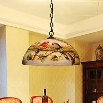 Pappagallo pendente lampadario chandelier corridoio bar for Lampadario amazon