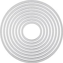 Knorr prandell 2118737551 Sizzix Framelits (die Set Circles/Kreise 8-teilig von 3 bis 10,7 cm Durchmesser)