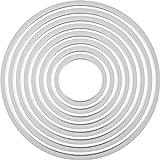 Sizzix Ellison Europe Framelits - Juego de troqueles (8 unidades), diseño circular