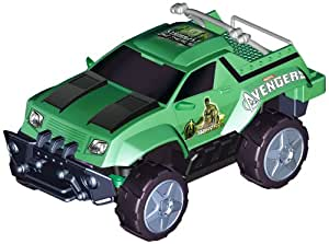 Majorette 213089731–Radiocommande À The Avengers RC Hulk, 2canaux, 27ou 40Mhz (assorties), échelle 1: 24, longueur 17cm, vert