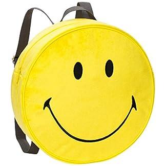 51lb89nEK8L. SS324  - NICI 40727-Mochila Smiley Amarillo Peluche Diámetro 30x 10cm