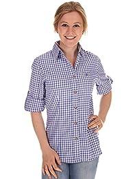 Orbis Damen Bluse krempelarm 50009-2602 34 rot