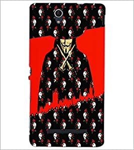 PrintDhaba Vendetta D-3508 Back Case Cover for SONY XPERIA C3 (Multi-Coloured)