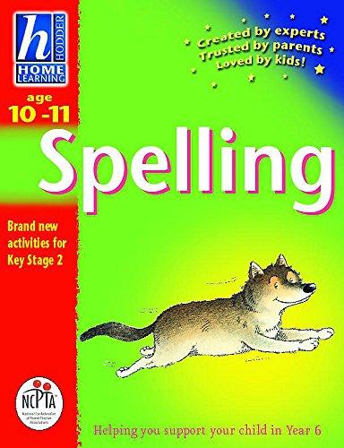 Age 10-11 Spelling (Hodder Home Learning)