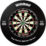 WINMAU BLACK DARTBOARD SURROUND RUBBER RING