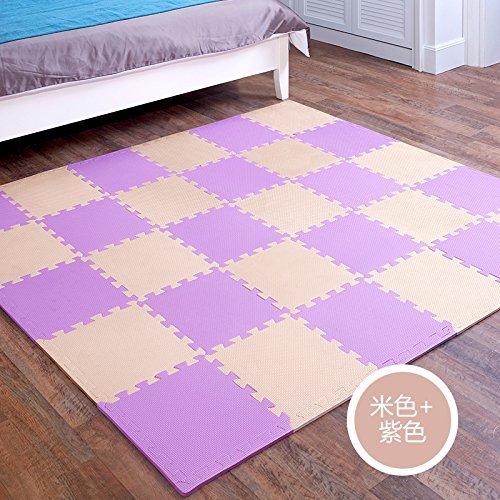 Saugfähigkeit Pads (HOMEE Kind Schlafzimmer Stitching Creeper Pad Montage Rechtschreibung Bodenmatte Dicken Baby Klettern Pad Schaum Rollmat Tatami,Q), 35 Stück)