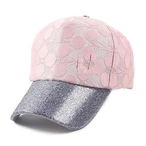 Mode Printemps Et En été Des Femmes De Pare-soleil Casquette De Baseball Sports De Loisirs En Plein Air pink