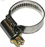 Dresselhaus 0/4647/000/40/ 60/ /76 - Manguera Norma abrazaderas cinta y carcasa de acero inoxidable con galvanizado Tornillo sinfín 6-Tube, ranurados,