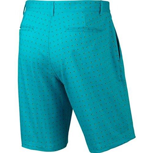 In azul Naranja Uomo Stampa Nike Moderni Grigio Forma Pantaloncini 7zgBBOv