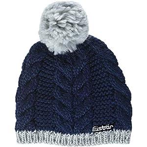 Eisbär Kiana Pompon Mütze