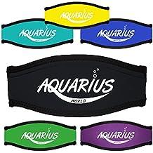 Für größere Ansicht Maus über das Bild ziehen Neopren - Maskenbandhülle - Maskenband - Mask strap cover - Aquarius World -