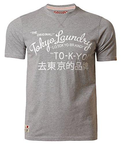 Tokyo Laundry -  T-shirt - Uomo Grau marl