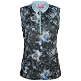 Slazenger Mujer Fashion Sin Mangas Golf Polo Camisa Camiseta Top Ropa Vestir Multicolor x-large