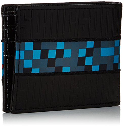 Image of Sonic - Running Sonic Bifold Wallet - Black