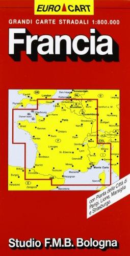 Francia 1:800.000 (Euro Cart)