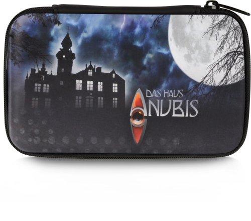 Speedlink Caddy Tasche zur Aufbewahrung des Nintendo DSi Lite (Hartschale mit Innenfächern und Reißverschluss) Das Haus Anubis -