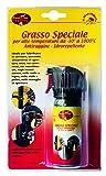 Best Fire 01010 Grasso Speciale per Alte Temperature da-30°C a 1000°C, Arancione