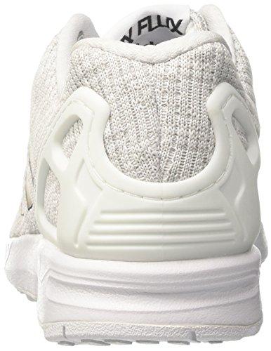 adidas ZX Flux, Scarpe da Corsa Uomo Multicolore (Ftwr White/Core Black/Grey One F17)