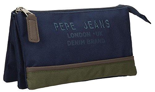 Pepe Jeans Alber Neceser de Viaje, 22 cm, 1.32 litros