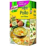 Knorr Sopa Líquida de Pollo con Fideos - 1000 ml - [Pack de 8]