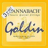 Hannabach 7257 MHT GOLDIN 3-Bass Set