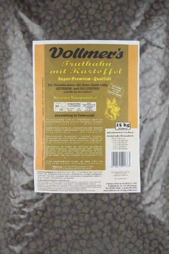 Vollmers Truthahn mit Kartoffel, 1er Pack (1 x 15 kg)