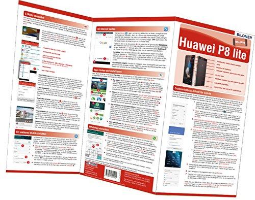 Preisvergleich Produktbild Huawei P8 Lite - der leichte Einstieg: Alles auf einen Blick. Besonders für Senioren geeignet (Wo&Wie / Die schnelle Hilfe)