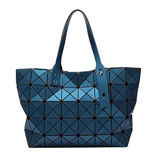 Damen Lingge Umhängetasche Geometrische Tasche Handtasche Gefaltet Green