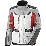 Scott Turn TP Motorrad Jacke grau/rot 2014: Größe: M (46/48)