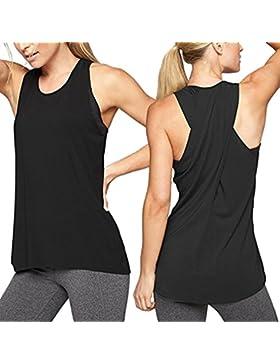 camisetas deporte mujer fitness, Sujetador Deportivo básicos tallas grandes sujetadores deportivos mujer running...