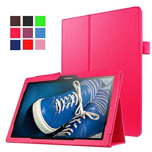 "Funluna Lenovo Tab 2 A10-30/70/Tab3 10 Plus Hülle, Ultra Slim PU Lederhülle Smart Case mit Auto Schlaf/Wach Funktion für Lenovo Tab2 A10-30/30L/30F/A10-70/70L/70F/TAB3 10 Plus/Business 10.1\"" Tablet"