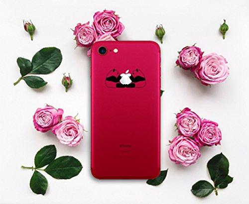 Pacyer® iPhone 7 Custodia Panda Transparente TPU Gel Silicone Protettivo Skin Shell Case Cover Per Apple iPhone 7 (4.7) 11