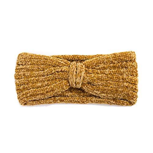Fashion You Want Damen Stirnband Mit Schleifenmuster Geflochten