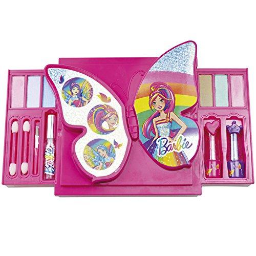 Barbie Schmink-Set 'Schmetterling' geprüfte Kosmetik wie Lidschatten und Lipgloss •...