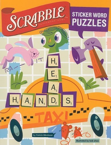 SCRABBLE Sticker Word Puzzles by Patrick Blindauer (2008-10-07) par Patrick Blindauer