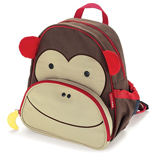*Skip Hop Zoo Kleinkind Rucksack, mit Namensschild, mehrfarbig, Affe Marshall*