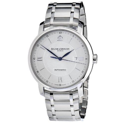 baume-et-mercier-classima-m0a10085-gents-steel-bracelet-automatic-date-watch