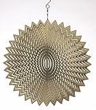 Spin-Art Windspiele Splash Original 12 Zoll, silber