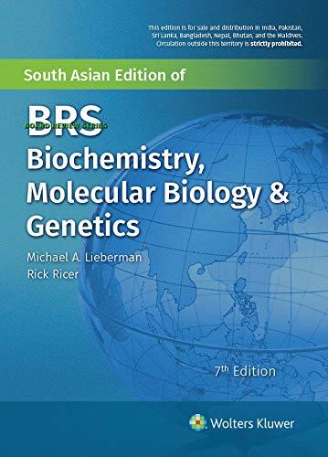 BRS Biochemistry, Molecular Biology, and Genetics 7/e