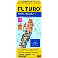 Futuro UU008565465 Muñequera Sport Resistente Al Agua, Mano Derecha, Unisex Adulto, Gris, S/M
